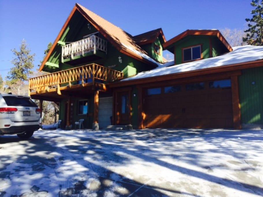Slope Side Cabin To Big Bear Resort Park And Ski Cabins