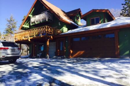 Slope side cabin to Big Bear Resort, park and ski - Big Bear Lake