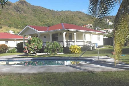 Home in the valley, by beach - Kingstown