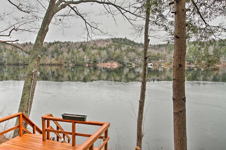 Waterfront Home on Lake Sunapee w/ Private Dock!