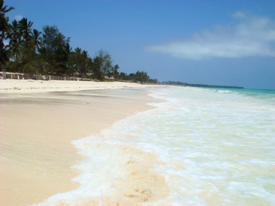 The beautiful, white, Makunduchi beach
