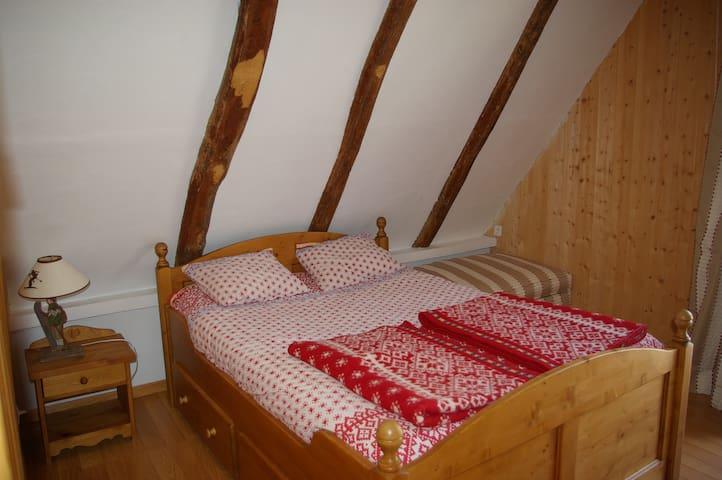 gite auberge chambre mezzanine - Bagnères-de-Luchon - Pondok alam