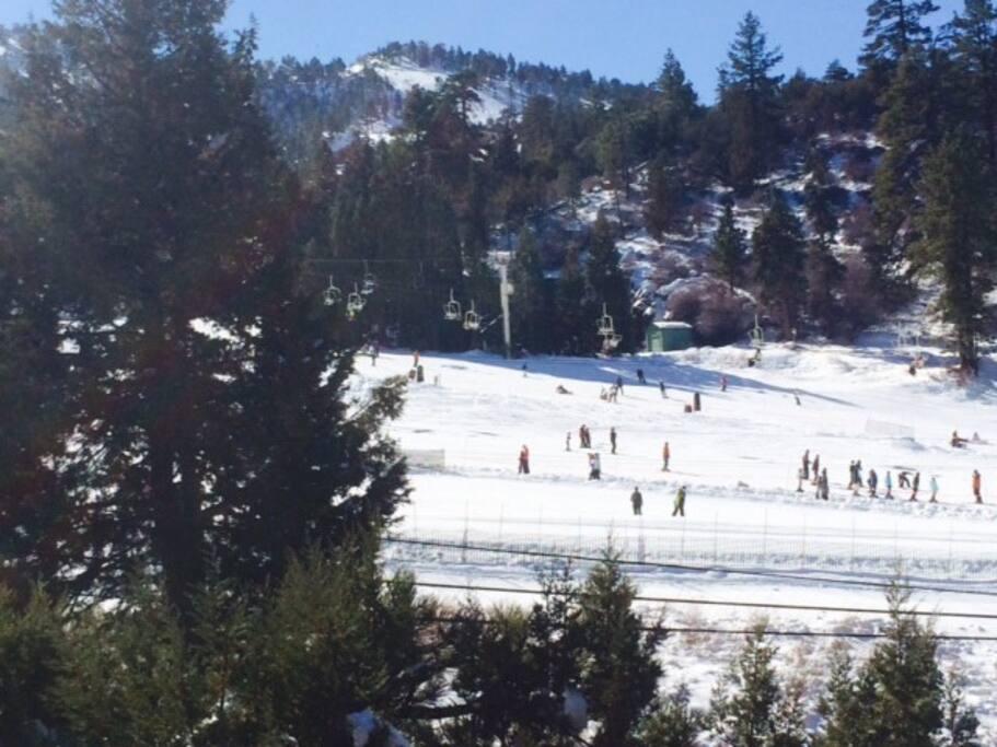 Slope Side Big Bear Resort Park Free And Ski Cabins For