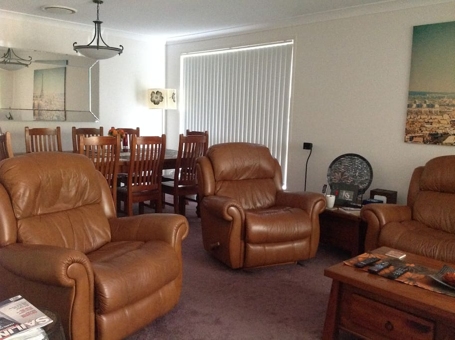 Formal lounge and dining area including TV,DVD ans surround sound.