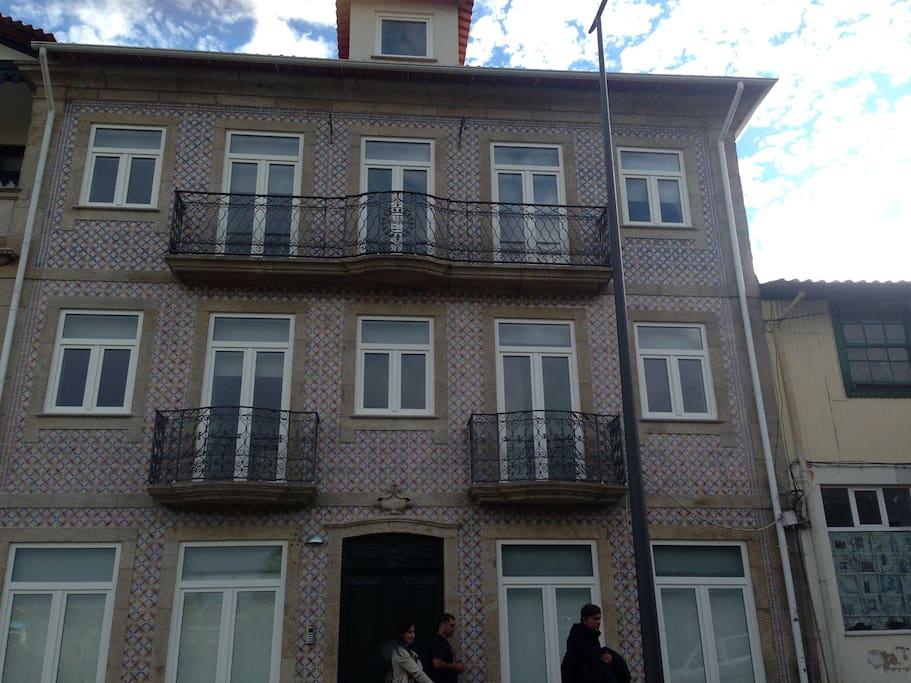 fachada do edificío