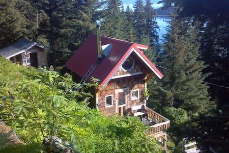 Kasitsna Bay Overlook Cabin - Seldovia - Hytte