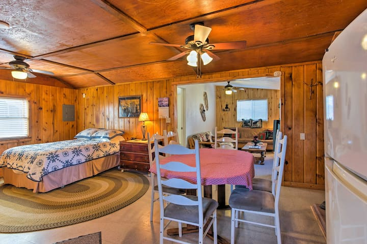 NEW! 1BR Cedaredge Cabin w/ Mtn Views & Game Room!