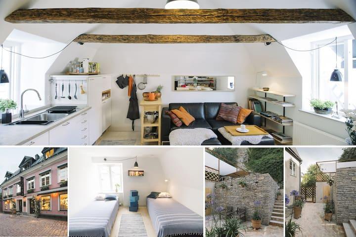 Visby Old town exclusive top floor