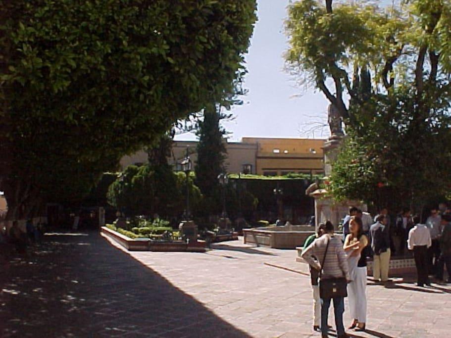 Querétaro Plaza de Armas