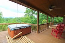Relax Your way On The Covered Porch