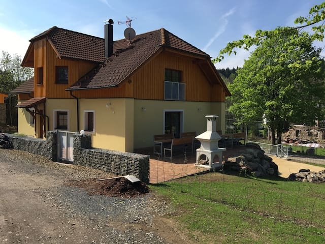 Moderni penzion v Českem lese - Halže - Bed & Breakfast