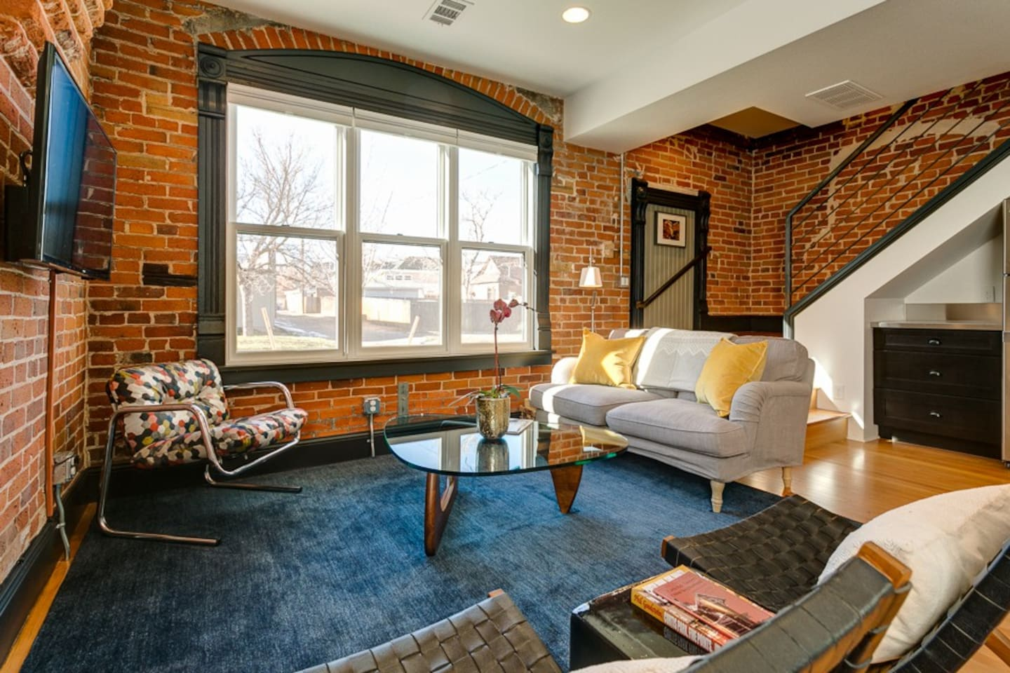 """A cool mixture of modern and historic...You feel like a million bucks...In immaculate condition...Had a lot of character...The four of us all said it was the best Airbnb we've used...Such a warm and relaxing vibe from the second you walk in the door...We felt like we got a true feeling of Denver through a local's perspective."""