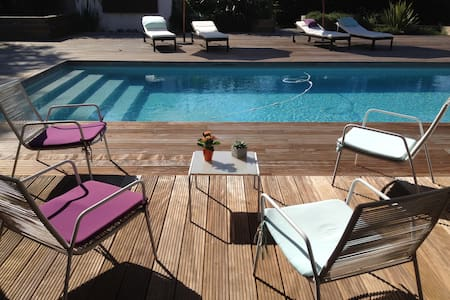 La Villa de Blandine Bed &Brfst  2 pers (+ 2 sup) - Vieille-Toulouse - Bed & Breakfast