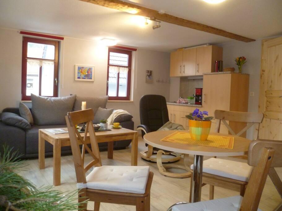 Café Landart Ferienwohnung Quelle Appartementen te Huur