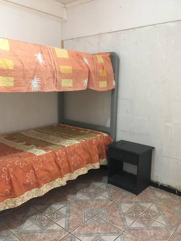 Alojamiento para una o dos personas