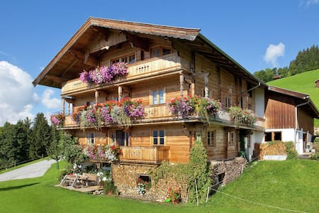 Spacious Farmhouse in Westendorf with a Mountain View