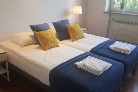 Blue apartament blisko Centrum Warszawy