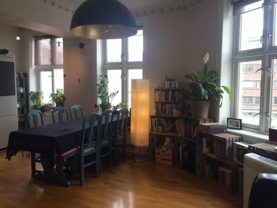 Livingroom, dining area/Kitchen