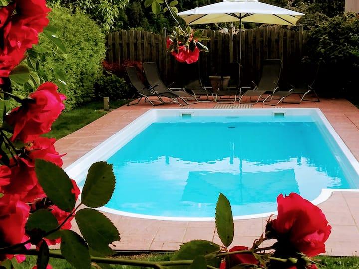 Ferienwohnung mit Pool in Wörthersee Nähe