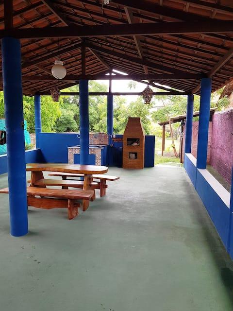 Baixio - BA-Casa de praia-3 suítes - até 6 pessoas