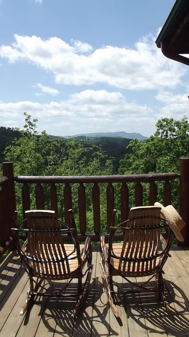 Sit and relax on a rocking chair; feel the sweet SERENITY BREEZE!