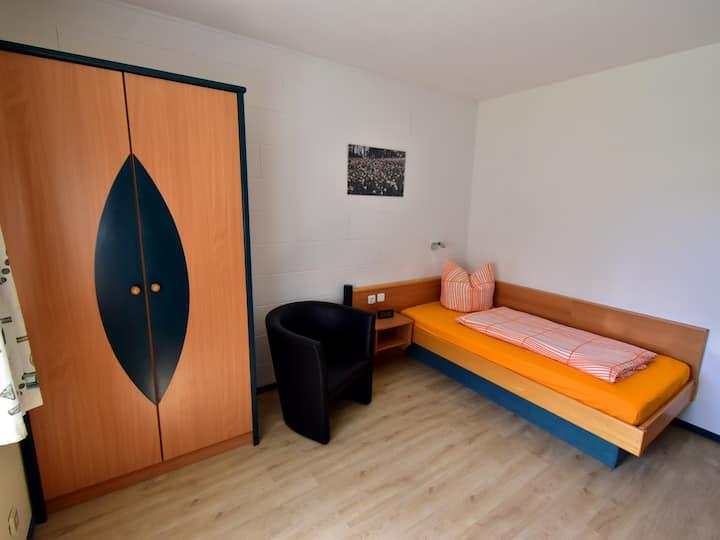 Einzelzimmer-Komfort im Hotel Garni Rank