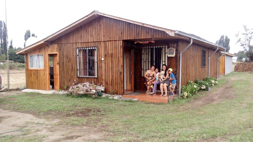 Amplia casa, cerca a Rio Ñuble y termas de Chillan