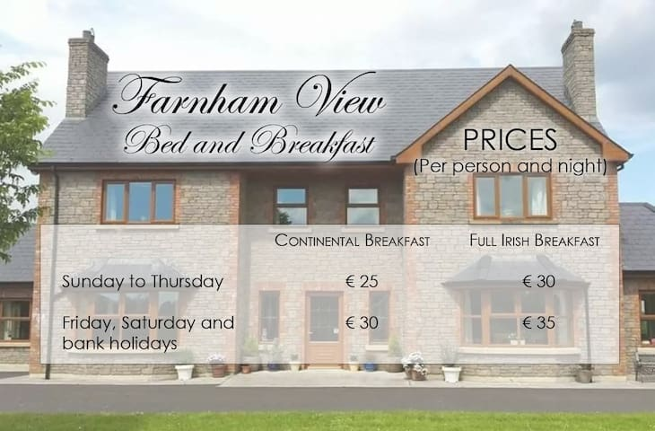 Farnham View Bed and Breakfast - Cavan - Bed & Breakfast