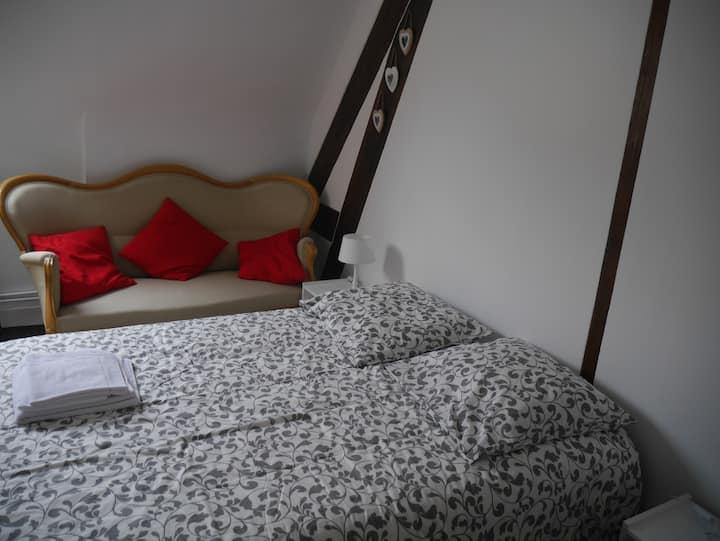 chambres avec excellentes literies
