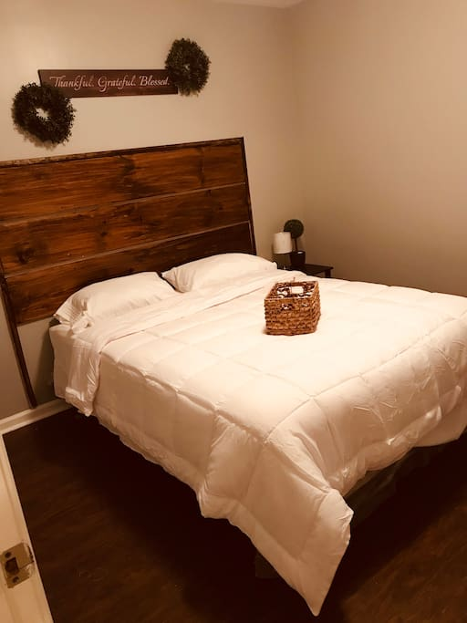 Newly, renovated bedrooms to cater to your inner country-living spirit!