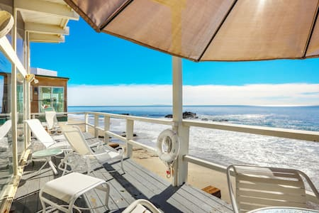 2BR, 2BA Beachfront Home w/ Panoramic Ocean Views