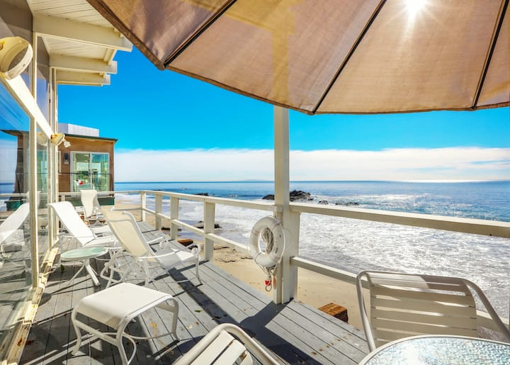 Beachfront Home w/ Panoramic Ocean Views