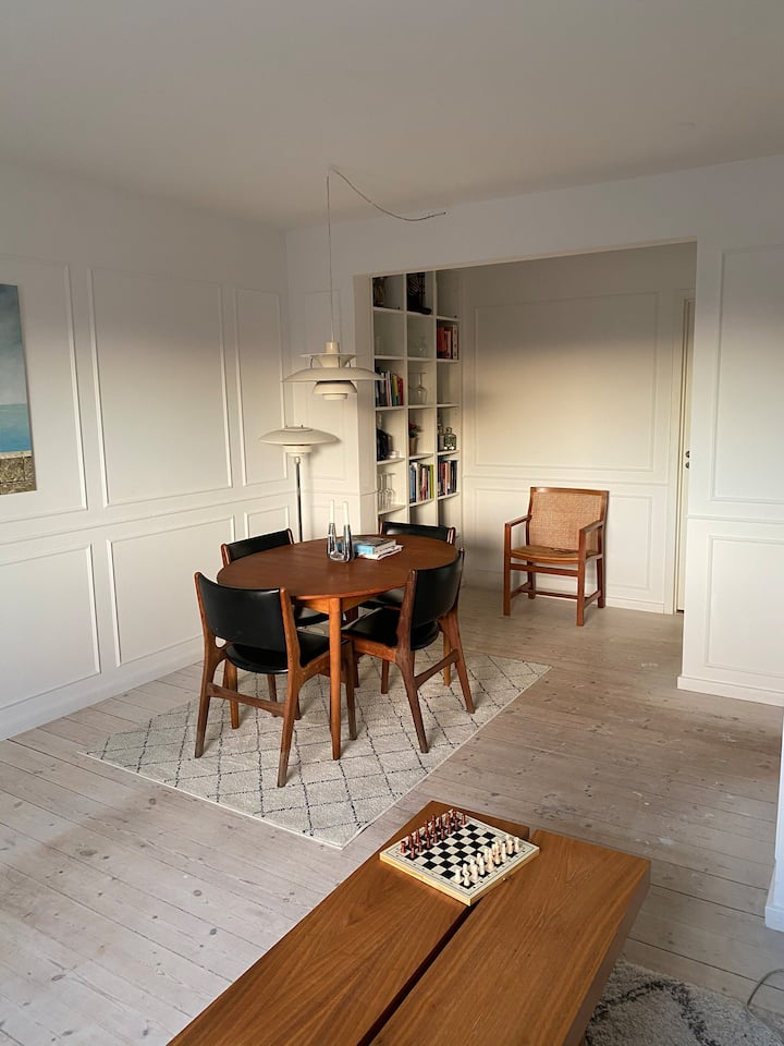 2 bedroom apartment with 20 min. to centrum of Cph
