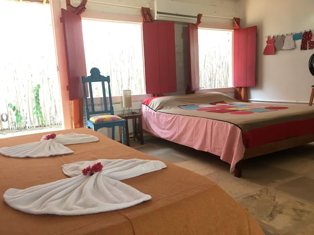 Barriga Da Lua  Great Location Quiet and Comfort ! - Jericoacoara Beach - House