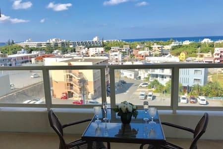 3BR|Falmily Resort APT w/Pool|OceanView|5min beach - Onna-son