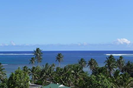 Fare Ivoa, vue superbe sur le lagon - 'Ātihā