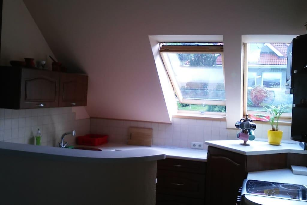 Apartament 1 Aneks kuchenny