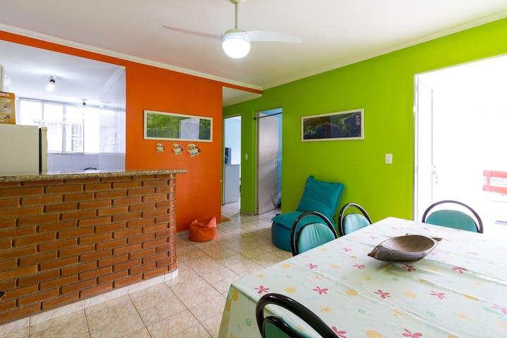 Apartamento em Ubatuba para Temporada/FDS