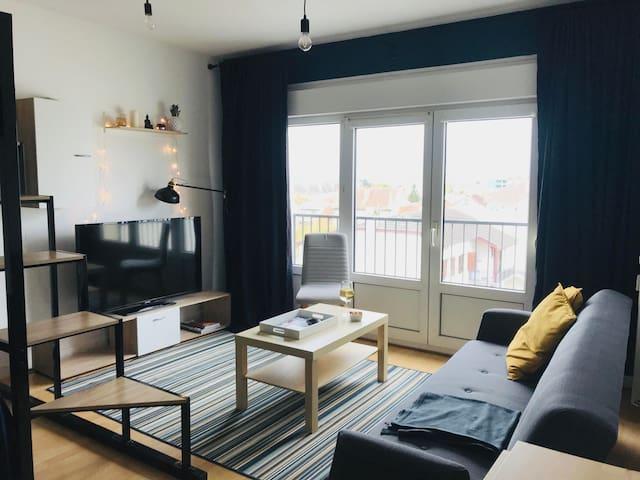 Charming luminous apartment in Reims