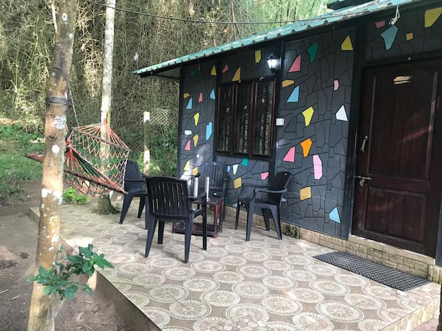 Jungle dormitory for large groups in Mudumalai