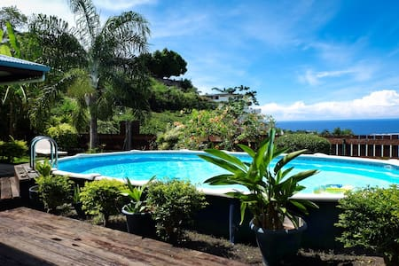 great view from your bedroom - Fa'a'ā - House