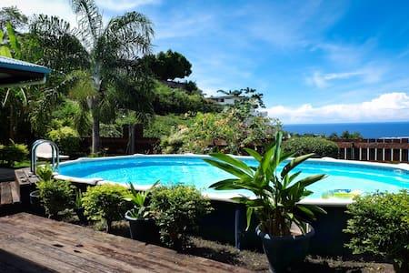 Jolie chambre dans villa avec piscine à Papeete - Fa'a'ā - Hus