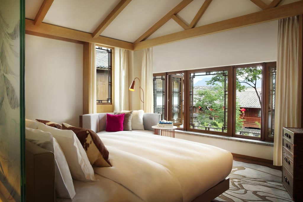 tea & horse caravan trail themed rooms and suites 园景茶马主题客房