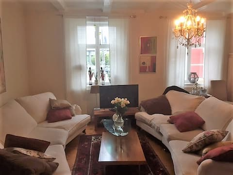 Cosy apartment close to the trainstation