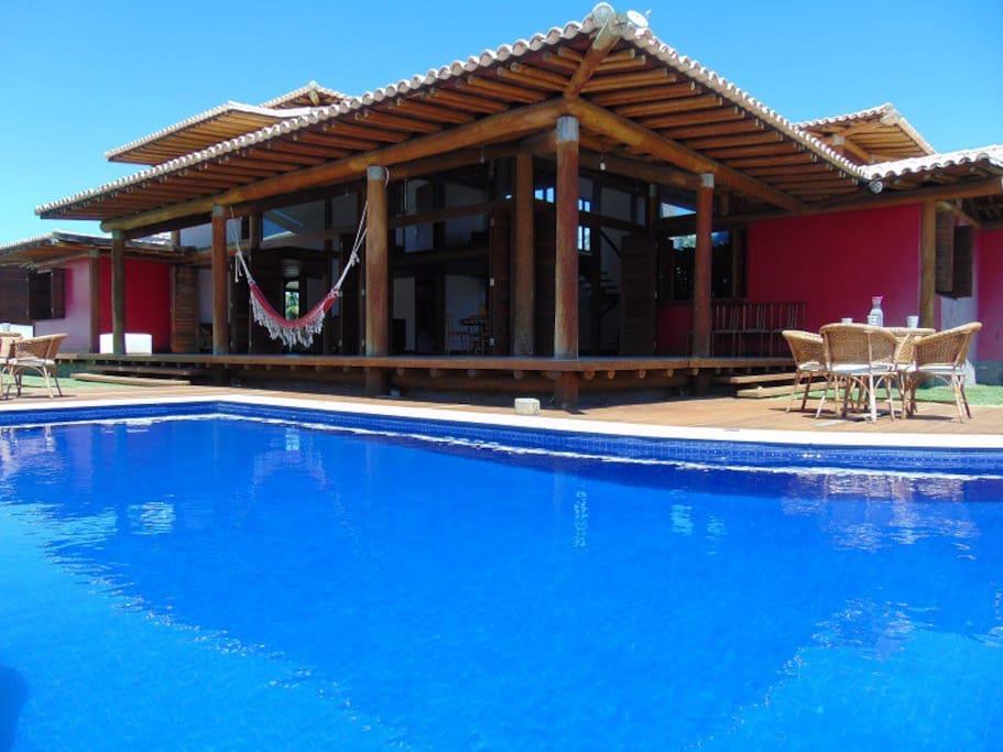 Pool and veranda