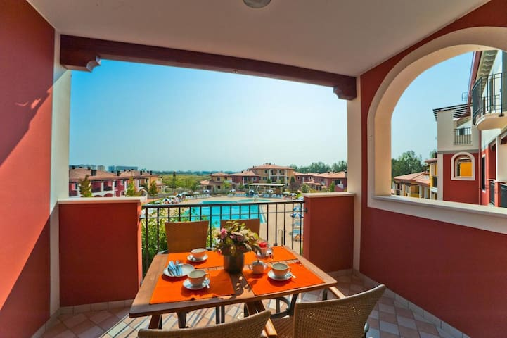 Nice Apartment in Resort with Pools and Playground