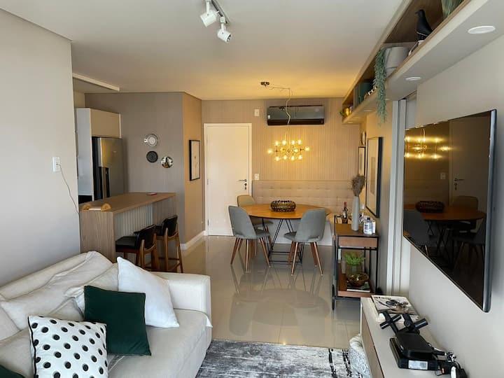 Apartamento muito aconchegante para família!