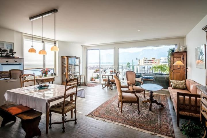 Central luxury apartment with amazing view