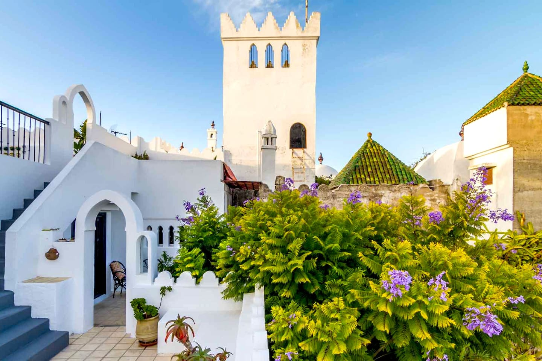 Les toits de L'Abyssin de Tanger