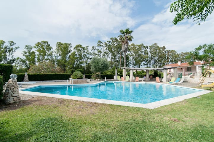 Family Style Flat with Pool